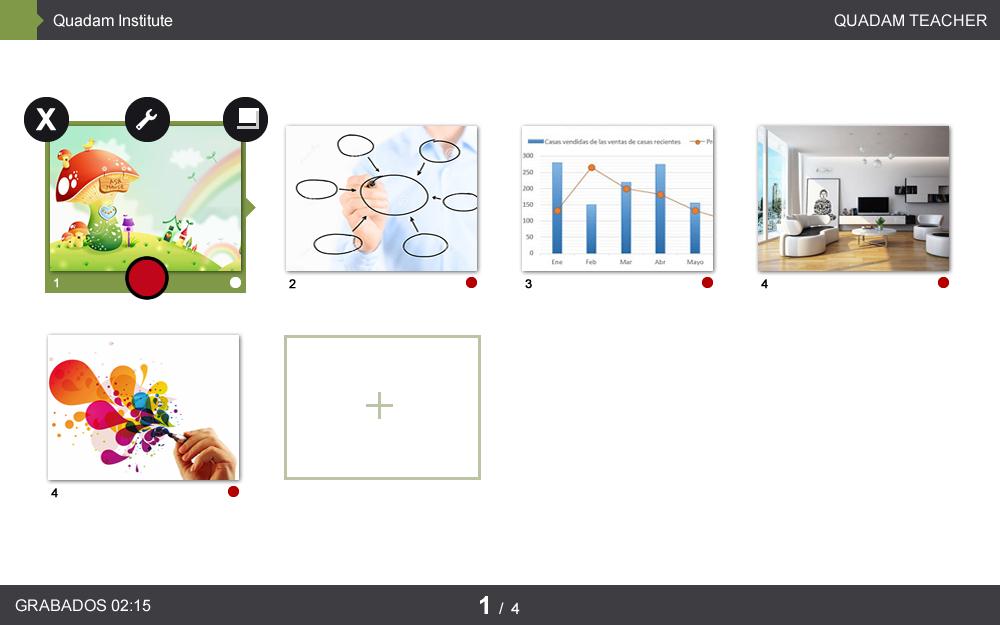 App iPad - Quadam