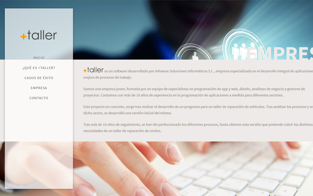 Diseño página web - +Taller