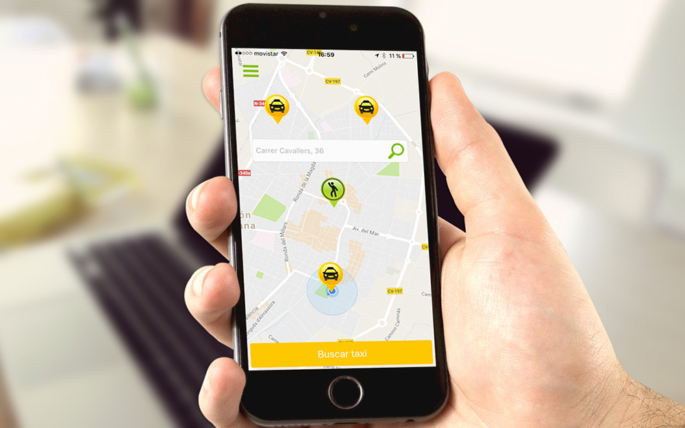 App iPhone/Android - CTaxi