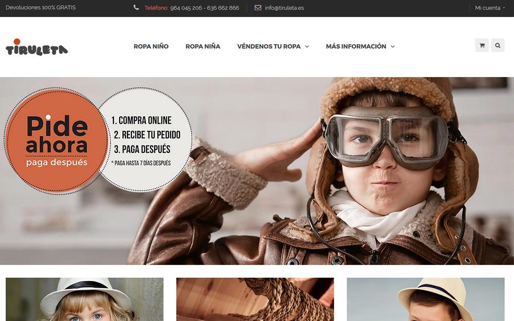 Tienda online - Tiruleta