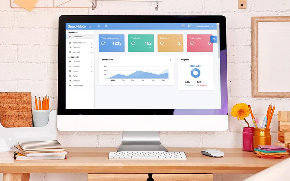 Aplicación web - Halcón