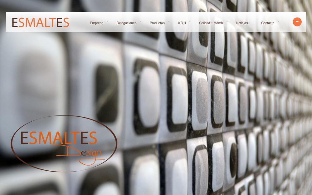 Diseño página web - Esmaltes