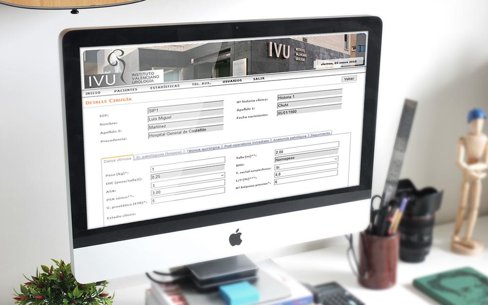 Aplicación web - IVU
