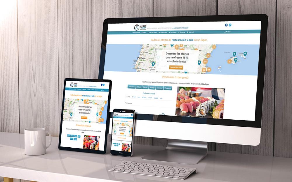 Aplicación web - Cenar y Salir