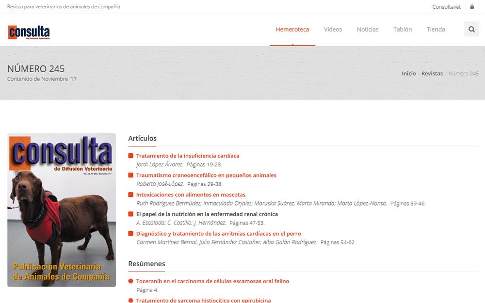 Aplicación web - Consultavet