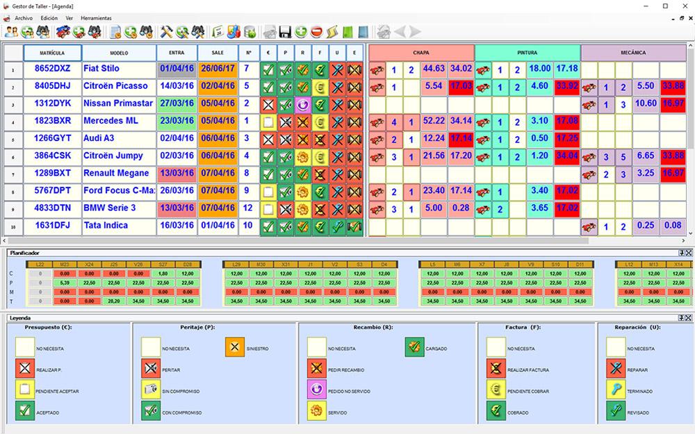 ERP - Programa Taller