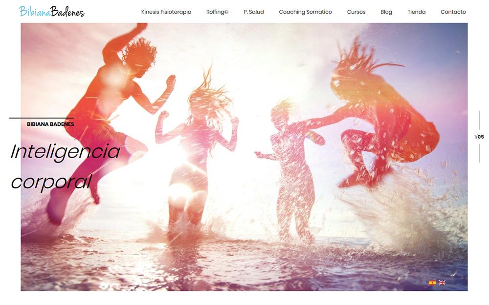 Diseño página web - Bibiana Badenes