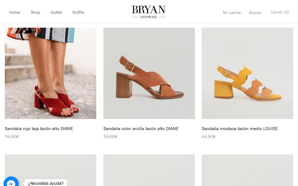 Tienda online - BryanStepWise