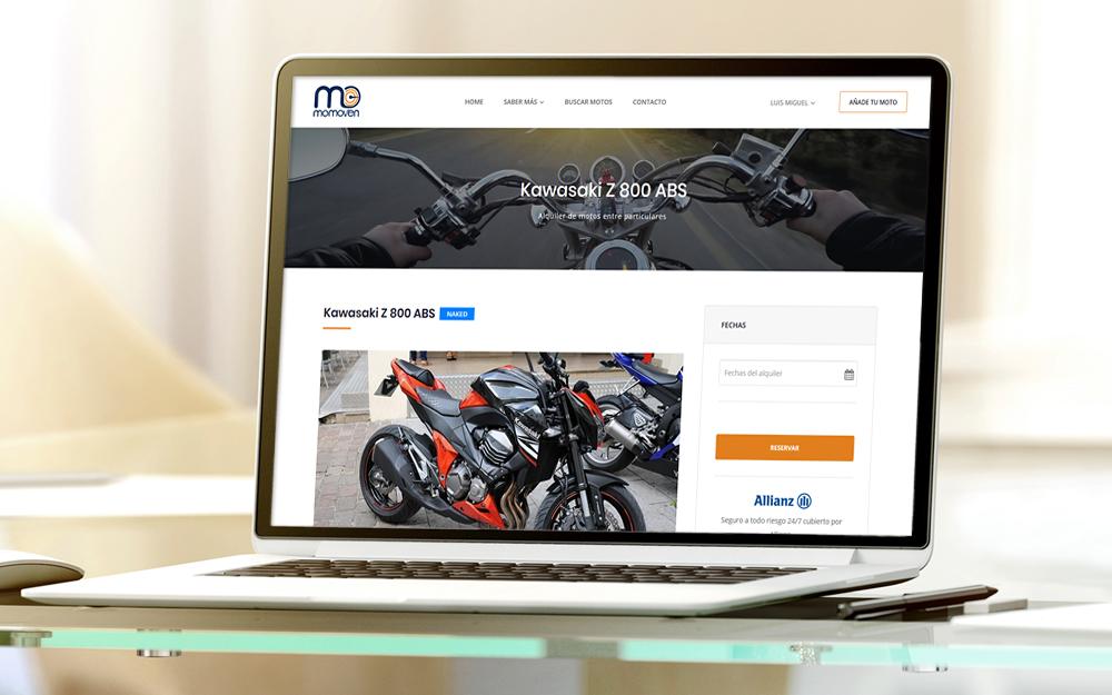 Portal web - Momoven