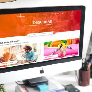 Diseño portal web - Cokouá