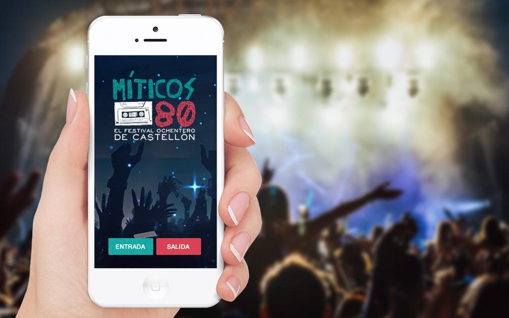 App Android - Míticos 80